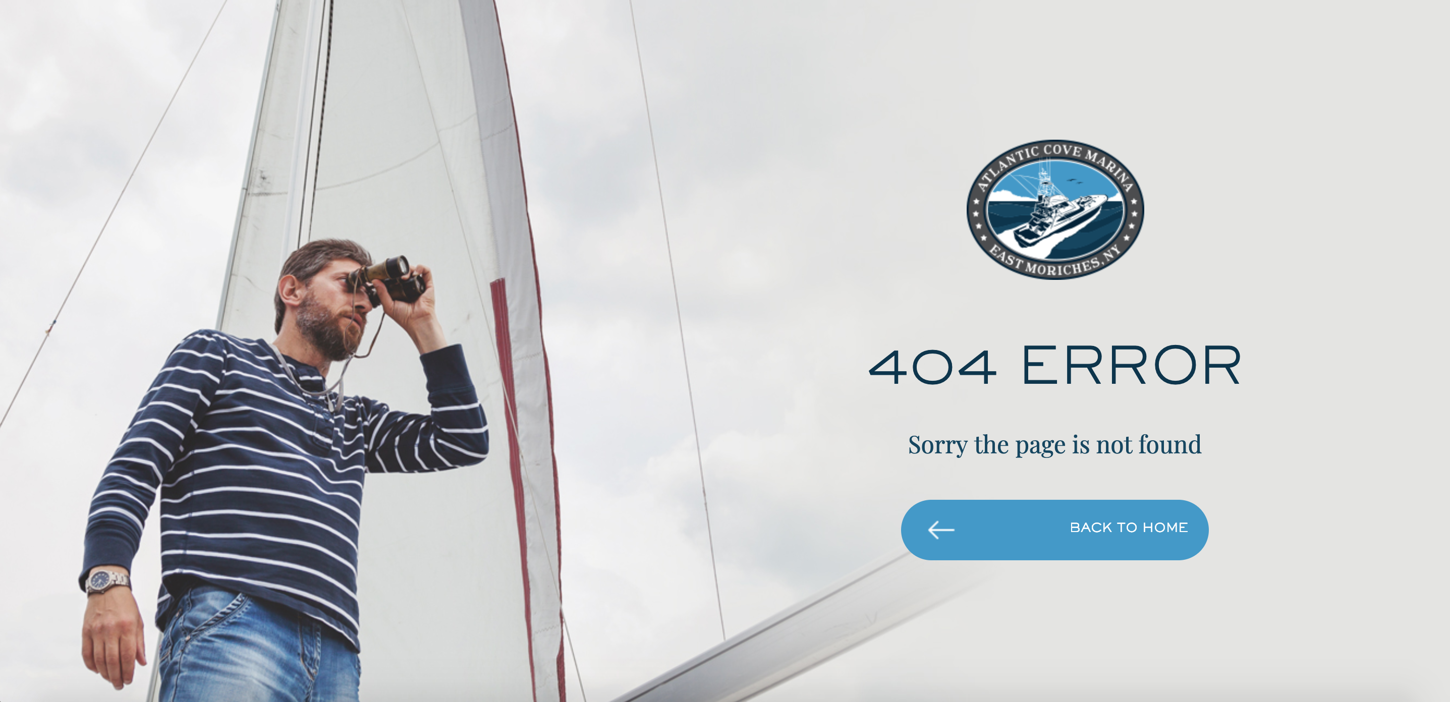 Atlantic Cove Marina 404 page created by TND