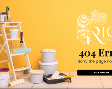 Rios Interiors Corp 404 page created by TND