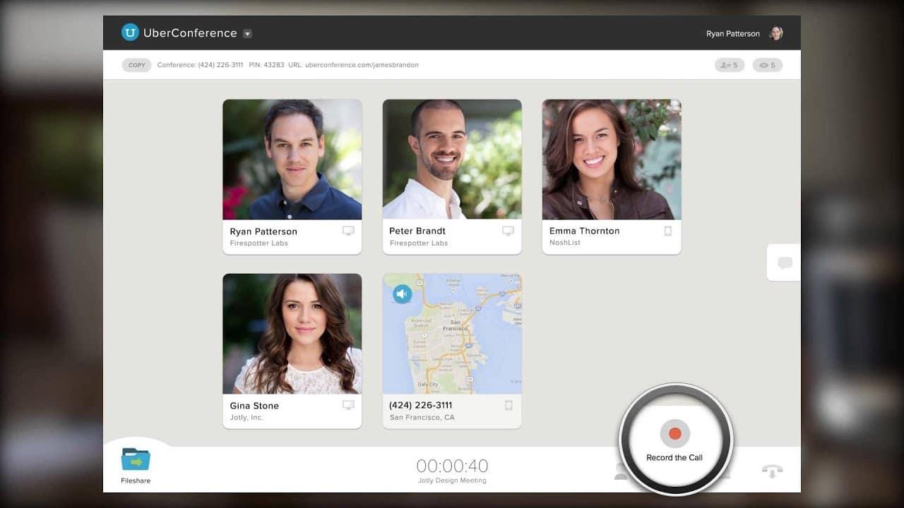 uber conference app