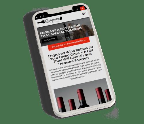 fully custom website design